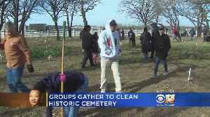 Groups Gather To Clean Historic Slave Cemetery [Video]