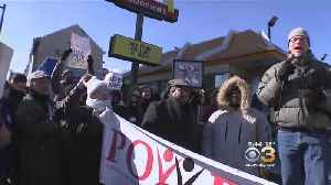Local Activists Brave Cold For Raise The Wage Rally [Video]