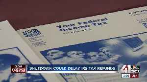 Tax professionals don't think shutdown will impact refunds [Video]
