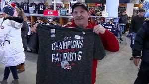 Patriots fans gearing up for another Super Bowl [Video]