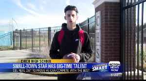 Abe Del Real: Small-Town Star has Big-Time Talent [Video]
