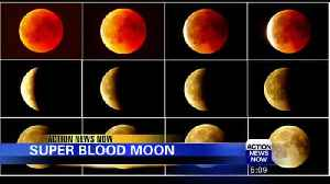 Lunar Eclipse Super Blood Wolf Moon [Video]