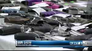 Gun show at Mayo Civic Center [Video]