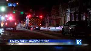 Three families displaced in early morning fire [Video]