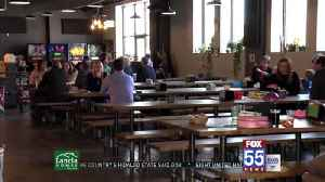 Hop River Brewing hosts lunar eclipse event [Video]