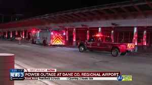 Dane County Regional Airport closed due to power outage, officials say [Video]
