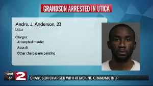 Police: Utica woman critically injured after grandson attacked her, set house on fire [Video]