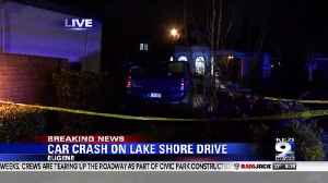 Two injured after truck crashes into brick wall in Eugene [Video]