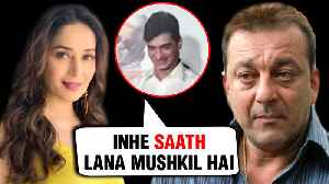 Madhuri Dixit AWKWARD Moment On Sanjay Dutt MISSING From Total Dhamaal [Video]
