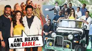 Ajay Devgn, Madhuri Dixit, Anil Kapoor, Arshad Warsi | Total Dhamaal Trailer Launch | FULL EVENT [Video]