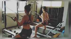 News video: Sara Ali Khan joins Malaika Arora for a Pilates session