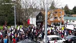 Hundreds marched through Seattle on Martin Luther King Jr. Day [Video]