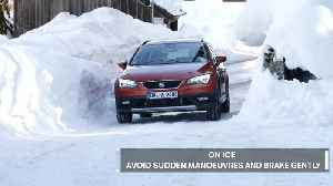 Seat - Drive on a snow like a pro [Video]