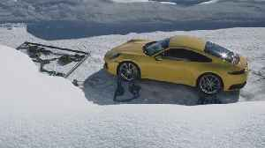 Spectacular presentation of the new Porsche 911 at an altitude of 1,408 metres [Video]