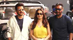 Madhuri Dixit, Anil Kapoor, Ajay Devgan attend Total Dhamaal trailer release [Video]