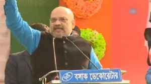 Amit Shah mocks Mamata Banerjee for blocking BJP rallies in West Bengal [Video]