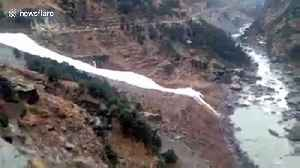 Avalanches bury major highway tunnel in India, triggering rescue effort [Video]