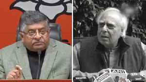 EVM hacking row: Kapil Sibal justifies presence at event, calls for probe [Video]