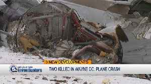 2 people killed in small plane crash in Wayne County identified [Video]
