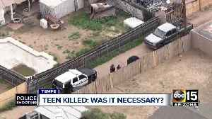 Was it necessary? Teen burglary suspect shot, killed by police [Video]