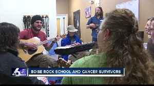 Music heals and fosters friendships at teen cancer survivor event [Video]