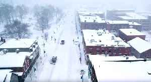 Drone Footage Captures Winter Storm in Vermont [Video]