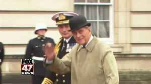 England's Prince Phillip unhurt after he was involved in a car accident [Video]