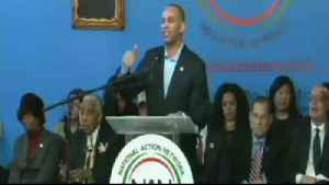 News video: Hakeem Jeffries: Trump is the Grand Wizard Of 1600 Penn. Ave
