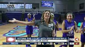 Hitting the court with FSW basketball with a few weeks left in the regular season - 7am live report [Video]
