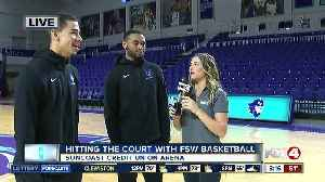 Hitting the court with FSW men's basketball [Video]