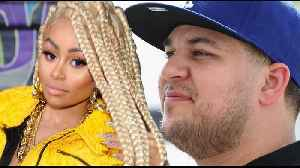 Blac Chyna ACCUSES Rob Kardashian Of Sending The POLICE To Her House! [Video]