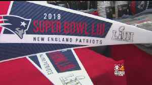 Eager Patriots Fans Stock Up On AFC Championship Gear [Video]