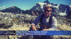 Brainerd Native Killed In New Mexico Avalanche While Skiing [Video]