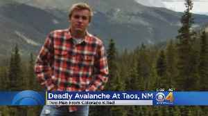 Vail Man Identified As Second Victim In Taos Avalanche [Video]