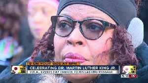 Celebrating Dr. Martin Luther King Jr. in 2019 [Video]