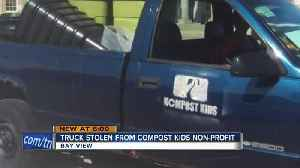 Non-profit group Kompost Kids tries to recover stolen truck [Video]