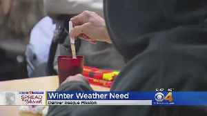 CBS4 Spreading The Warmth To Denver Homeless [Video]