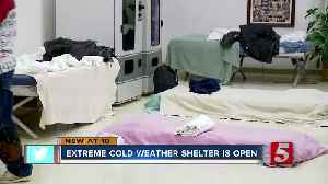 Overflow shelter opens as freezing temperatures move into Metro [Video]