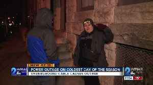 Power knocked out for hours on coldest night of season [Video]