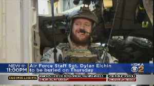 Staff Sgt. Dylan Elchin Of Hookstown To Be Laid To Rest At Arlington National Cemetery [Video]