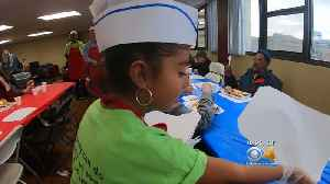 8-Year-Old Girl Relishes In Volunteering On MLK Jr. Holiday [Video]