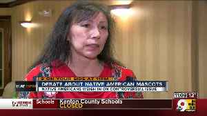 News video: Are Native American mascots unacceptable in 2019? Even native groups can't agree
