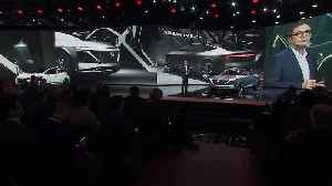 Nissan IMs Concept World Premiere - Nissan Press Conference Highlights [Video]