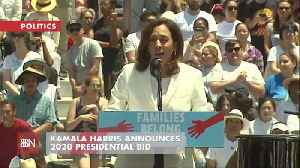 Cali Senator Kamala Harris In The 2020 Race [Video]
