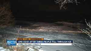 Man drowns after ATV falls through ice [Video]