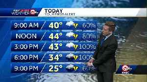 First Alert: Flash freeze possible as temps drop tonight [Video]