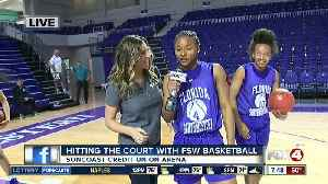 Hitting the court with FSW basketball with a few weeks left in the regular season - 7:30am live report [Video]