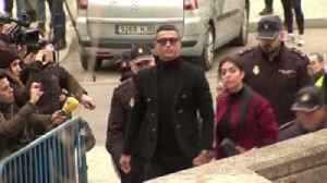 Ronaldo arrives for tax case in Madrid [Video]