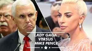 News video: Lady Gaga SLAMS Mike Pence as 'worst representation of Christianity'