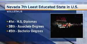 Nevada scores low on education study [Video]